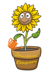 zonnebloem kampioen logo